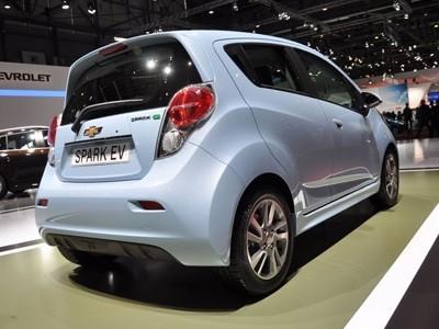Genève 2013 : Chevrolet Spark EV