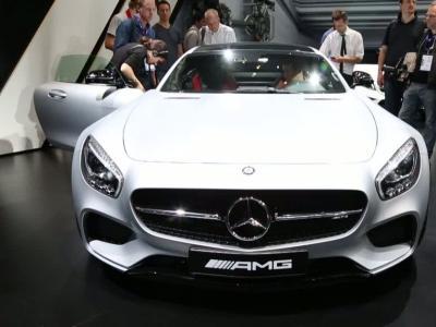 Mondial Auto 2014 : Mercedes AMG-GT