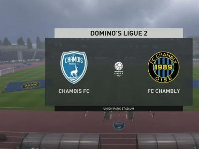 Chamois Niortais - FC Chambly Oise sur FIFA 20 : résumé et buts (L2 - 36e journée)