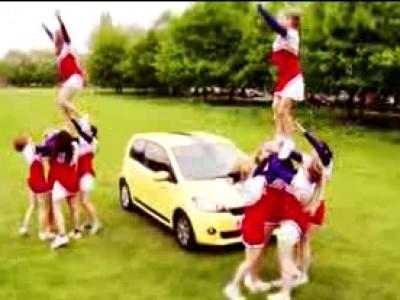 Combien peut-on mettre de cheerleaders dans une Skoda Citigo