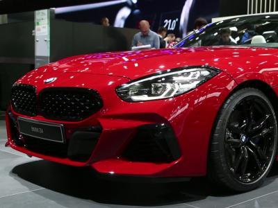 Mondial de l'Auto 2018 : la BMW Z4 en vidéo
