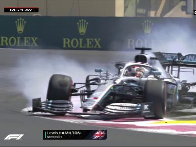 La faute de Lewis Hamilton aux essais libres 2