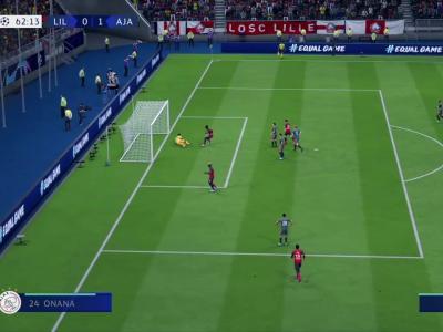 LOSC - Ajax Amsterdam : notre simulation sur FIFA 20