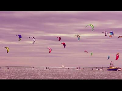 Championnat de France de Kitesurf Speed Crossing