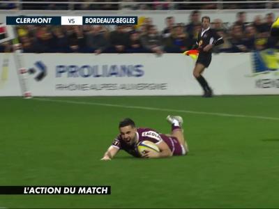 ASM Clermont - Bordeaux-Bègles : résumé et essais du match en vidéo