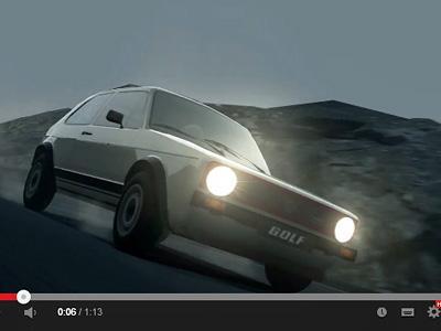 Vision Gran Turismo : La Golf GTI sera de la partie