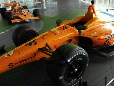 500 Miles d'Indianapolis 2019 : la McLaren de Fernando Alonso en vidéo