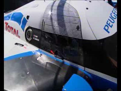 Peugeot 908 : essais au Castellet