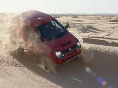 La Fiat Panda s'offre le Dakar