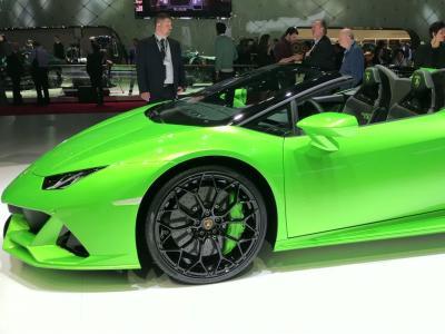 Salon de Genève 2019 : la Lamborghini Huracan Evo Spyder en vidéo