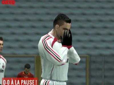 AS Roma - Milan AC : notre simulation sur...PES 6 !