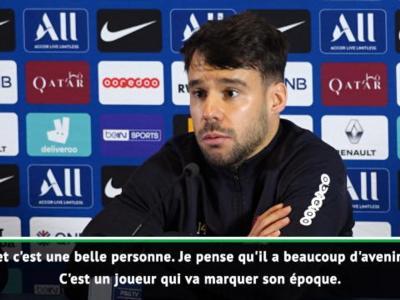 PSG : Bernat encense Mbappé