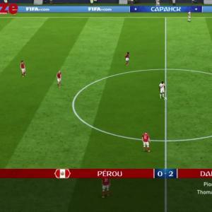 Pérou - Danemark : notre simulation sur FIFA 18