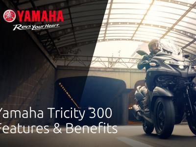2020 Yamaha Tricity 300 : fonctionnalités et nouveautés