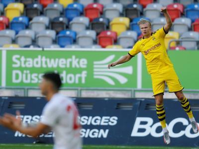 Bundesliga : Haaland, sauveur pour son retour