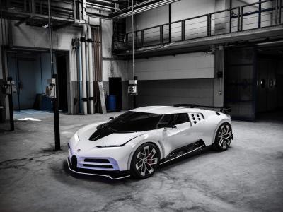 Bugatti Centodieci : présentation de la supercar