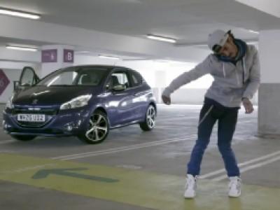 La Peugeot 208 aime le Dubstep