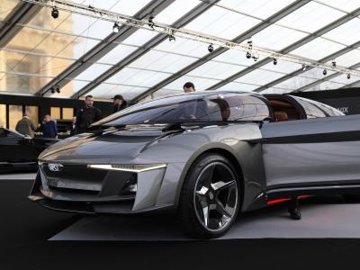 GFG Sybilla : la luxueuse berline électrique au FAI 2020