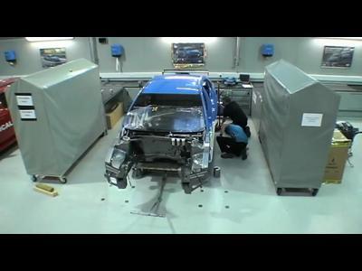Assemblage d'une Chevrolet Cruze WTCC
