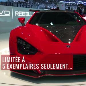 La Zenvo TSR-S en vidéo depuis le salon de Genève 2018