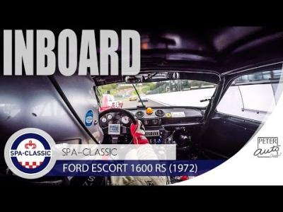 Ford Escort RS 1600 inboard Touring Car Spa-Francorchamps