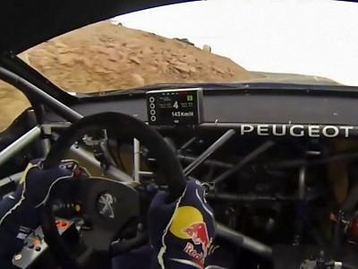 La montée de Sébastien Loeb à Pikes Peak vue de l'intérieur