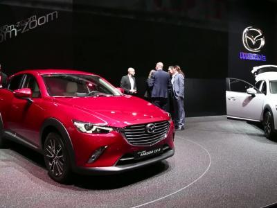 Genève 2015 | Mazda CX3