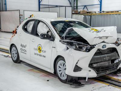 Crash-test Euro NCAP : 5 étoiles pour la Toyota Yaris
