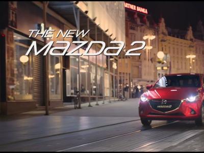 Les premières images de la future Mazda2 en vidéo