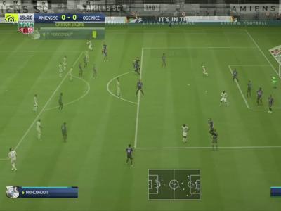 Amiens SC - OGC Nice sur FIFA 20 : résumé et buts (L1 - 38e journée)