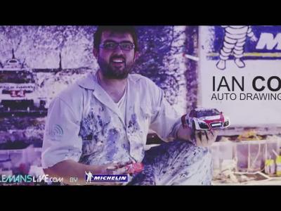 24H du Mans 2014 #8 - Artwork avec une voiture ... radiocommandée