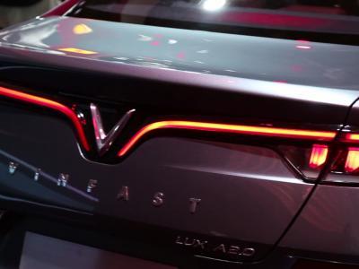 Mondial de l'Auto 2018 : la Vinfast Lux A Berline en vidéo