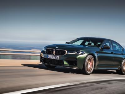 Nouvelle BMW M5 CS (2021) : la berline sportive en vidéo