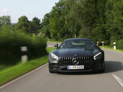 Essai Mercedes-AMG GT C Edition 50: l'étoile noire
