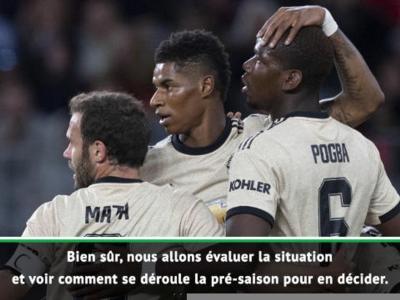 Man Utd - Solskjaer annonce que Pogba pourrait être capitaine