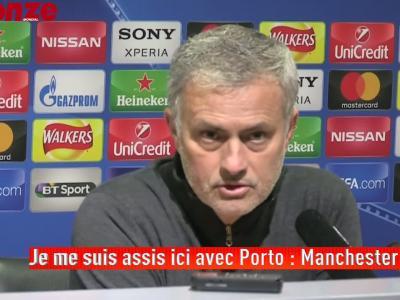 Les propos hallucinants de Mourinho en conférence de presse