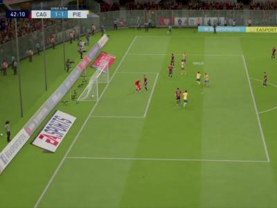 Cagliari Calcio - Juventus Turin sur FIFA 20 : résumé et buts (Serie A - 37e journée)