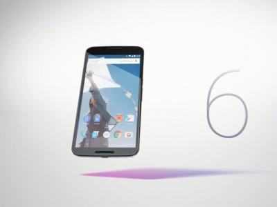 Un écran géant pour le Nexus 6 de Google