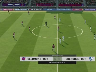 Clermont Foot 63 - Grenoble Foot 38 : notre simulation FIFA 20 (L2 - 35e journée)