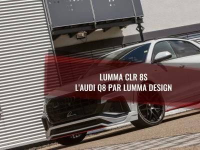 Lumma CLR 8S : l'Audi Q8 par Lumma Design
