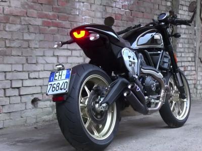 Essai Ducati Scrambler Café Racer