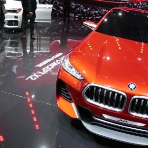 Mondial 2016 : BMW X2 Concept