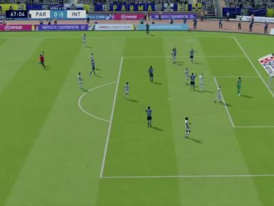 Parme AC - Inter Milan sur FIFA 20 : résumé et buts (Serie A - 28e journée)