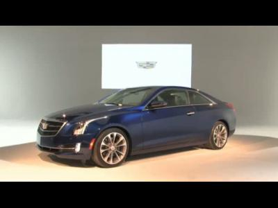 Le nouveau coupé Cadillac ATS en vidéo