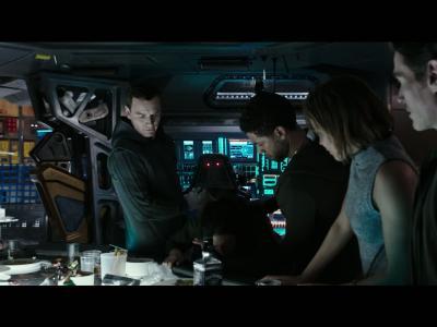 Alien : Covenant, présentation de l'équipage
