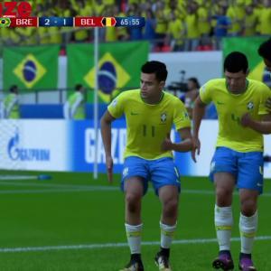 Brésil - Belgique : notre simulation sur FIFA 18