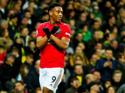 Anthony Martial : ses stats de la saison 2019 / 2020 avec Manchester United