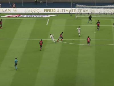 LOSC - Stade de Reims sur FIFA 20 : résumé et buts (L1 - 35e journée)