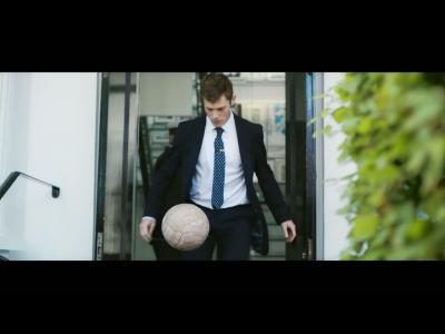 Le foot vu par Paul Smith : ça ne fait pas un pli