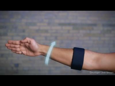 Contrôler le monde avec votre bras !